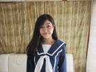 ◆矢吹静菜ちゃんコスプレセーラー服+パンティ◆