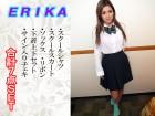 ERIKAちゃん 制服セットとサイン入りチェキ 合計7点