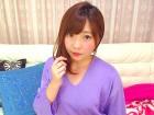 【けいこちゃん】私物★紫のトップスと黒のスカートセット◆