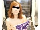 【かなちゃん】 着用済みパンティー(紫色)