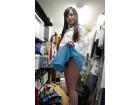 【宮沢ゆかりちゃん】がオークション撮影で着用したコスプレセーラー服とTバックパンティ!