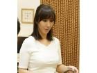 澤村レイコ 作中着用衣装サイン入りチェキ付きブラ&パンティセット( ブルーラベンダー)