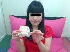清純色白はるるちゃん☆ピンクの水玉緑取りにベージュのTバック&お手紙