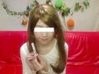 色白純情くぅ~ちゃん私物のカットソー&サイン入りコンシーラー