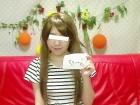 色白純情くぅ~ちゃん私物のボーダーチュニック&サイン入りマスク