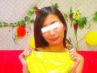 【ニオイ汚れ注意】スレンダー美女ゆなちゃん私物の黄色パンティ