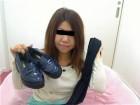 ★人妻えみちゃん☆黒色パンスト&紺色のローファー★
