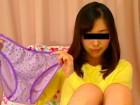 「未央」の花柄薄紫色パンティ!