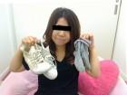 ★人妻えみちゃん☆★グレーの靴下&ハイカットスニーカー