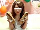色白純情くぅ~ちゃん私物の靴