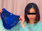 「未央」の光沢濃紺色パンティ!