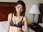 香苗レノンさん☆下着上下セット+パンティーストッキング