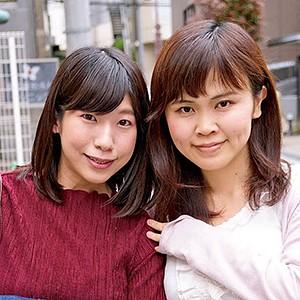 素人熟女図鑑 あかり&みか jzukan154