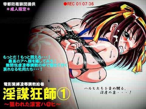 【涼宮ハルヒの憂鬱 同人】RTKBOOK3.5「淫謀狂師1~狙われた涼宮ハ@ヒ~」