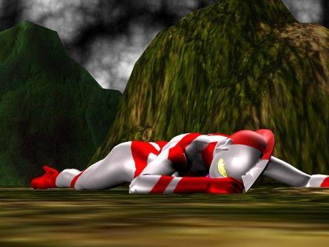 ウルトラウーマン3DCG画像集