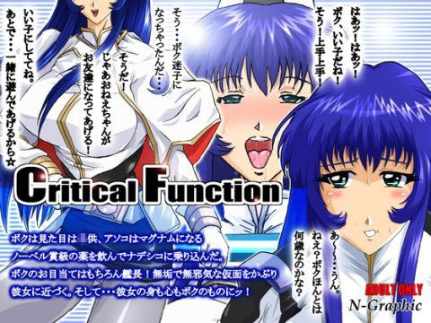 【機動戦艦ナデシコ 同人】CriticalFunction