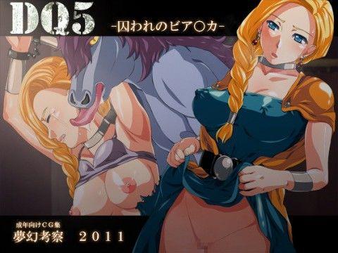 【ビアンカ 同人】DQ5-囚われのビア○カ-