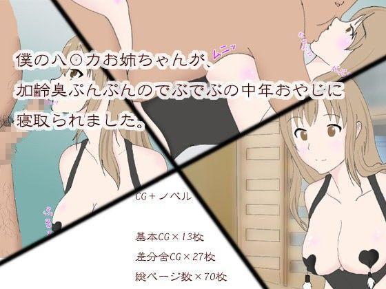 夏休みの自由研究「ハルカお姉ちゃんの観察」NTR編