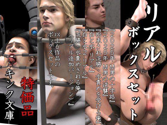 【キンク文庫 同人】リアルボックスセット特価版