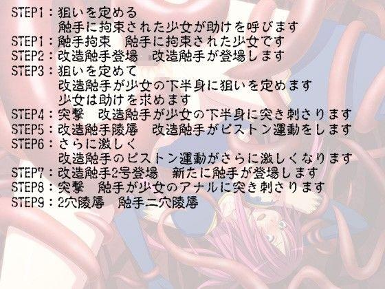 [同人]「【無料】触手二穴○辱」(にくきゅうぷにぷにランド)