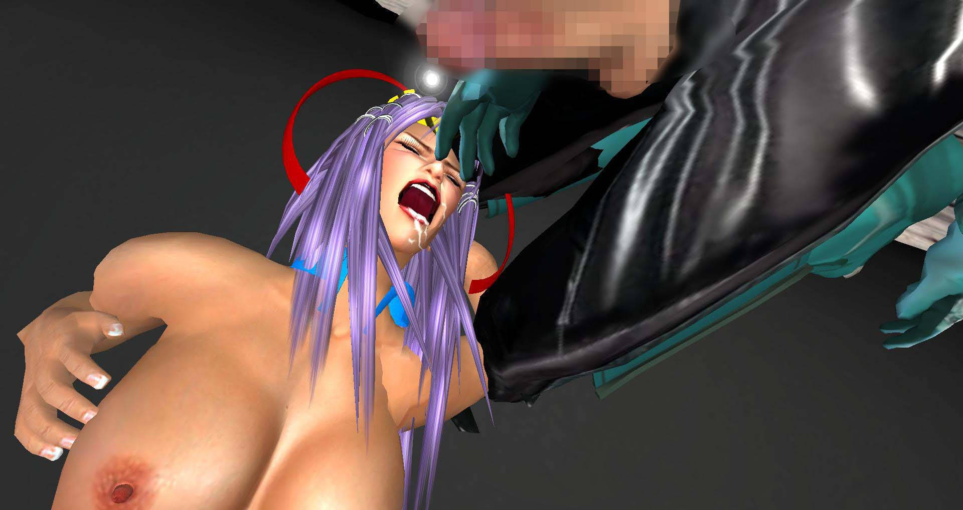 [同人]「セクシービーナナはマスク男の肉棒に弱い」(ウルトラナナのキャットファイティング)