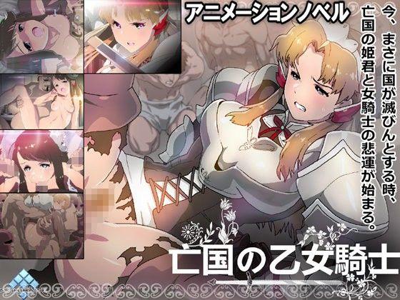 『亡国の乙女騎士』ダウンロード用の画像。