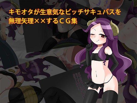 キモオタが生意気なサキュバスに無理矢理××しちゃうCG集の表紙