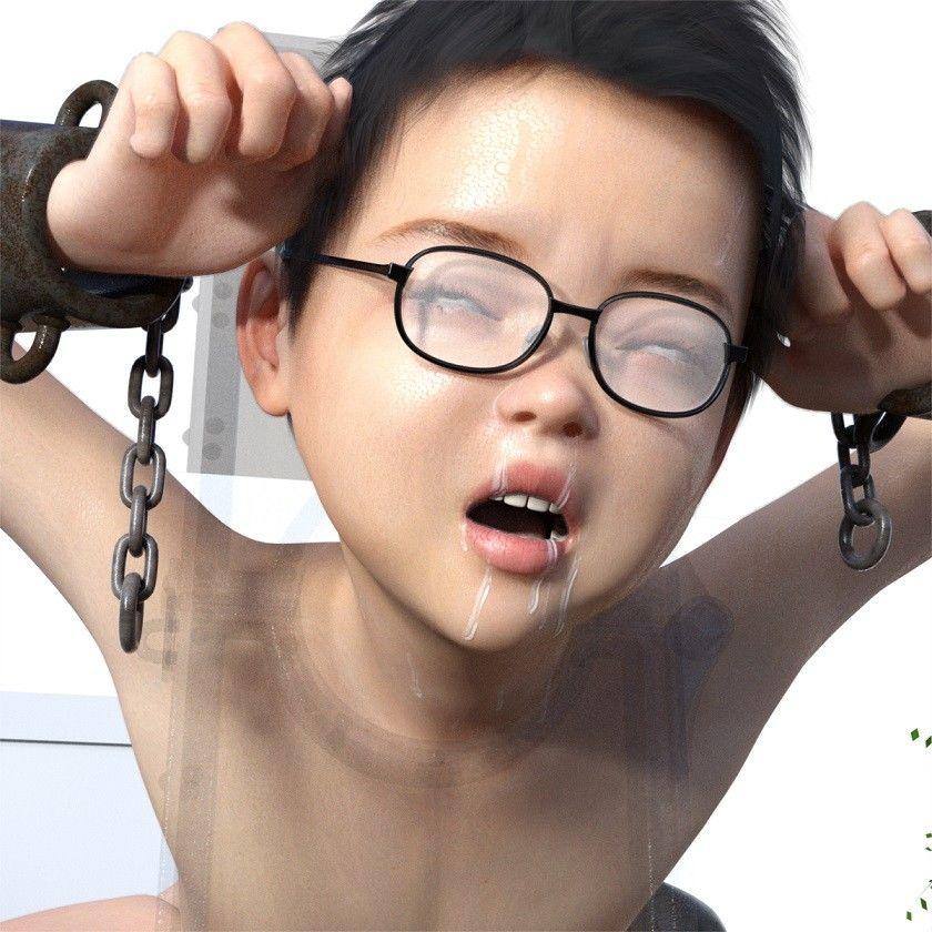同人ガール:[同人]「眼鏡少年をテーブルに乗せて囲む」(キンク文庫)