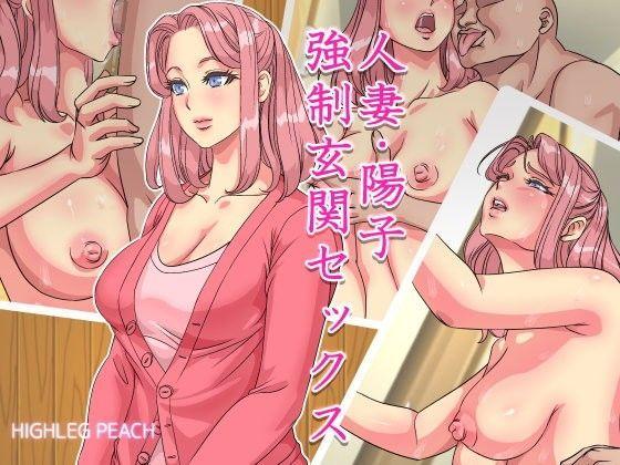 人妻・陽子 強制玄関セックスの表紙