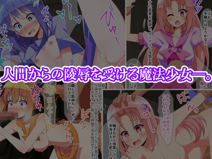 魔法少女陵辱 〜人間達に犯される魔法少女達〜のサンプル画像1