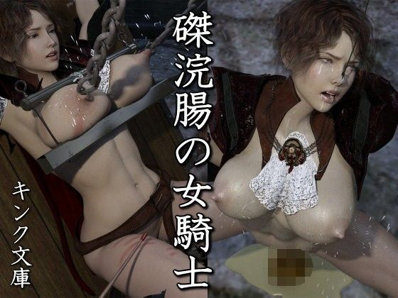 磔浣腸の女騎士の表紙