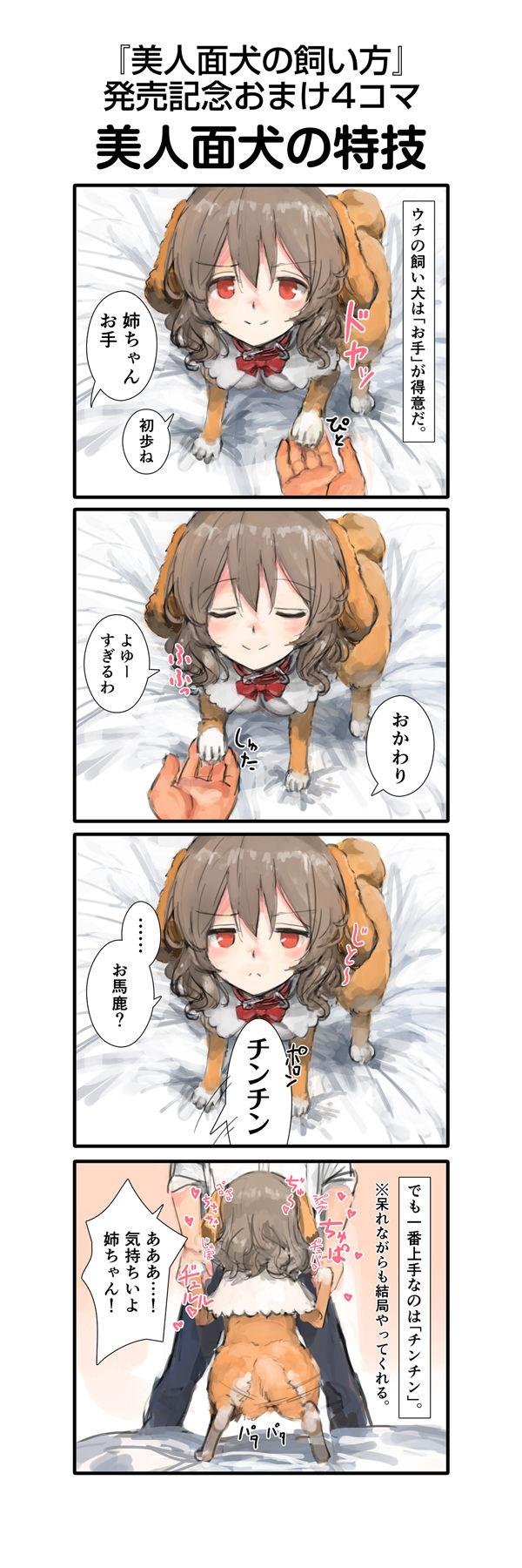 美人面犬の飼い方 画像