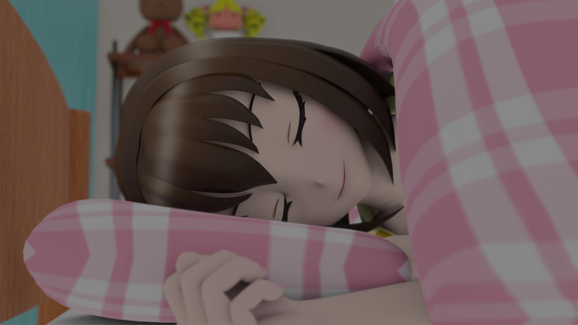 寝てるお姉ちゃんにいたずらしてたらバレてクンニをさせられました エロ画像