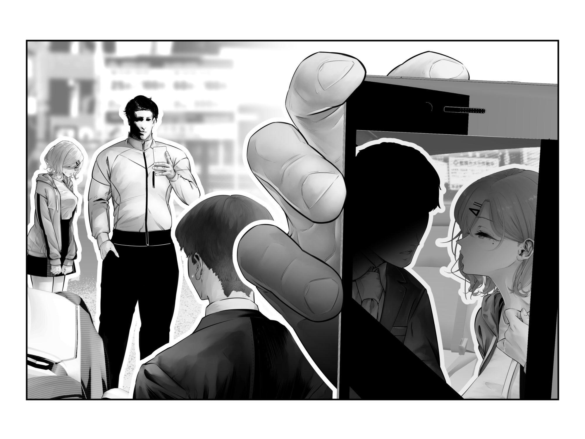 -樋■円香-交際バレ、後部座席で寝取られ調教 エロプレイ画像