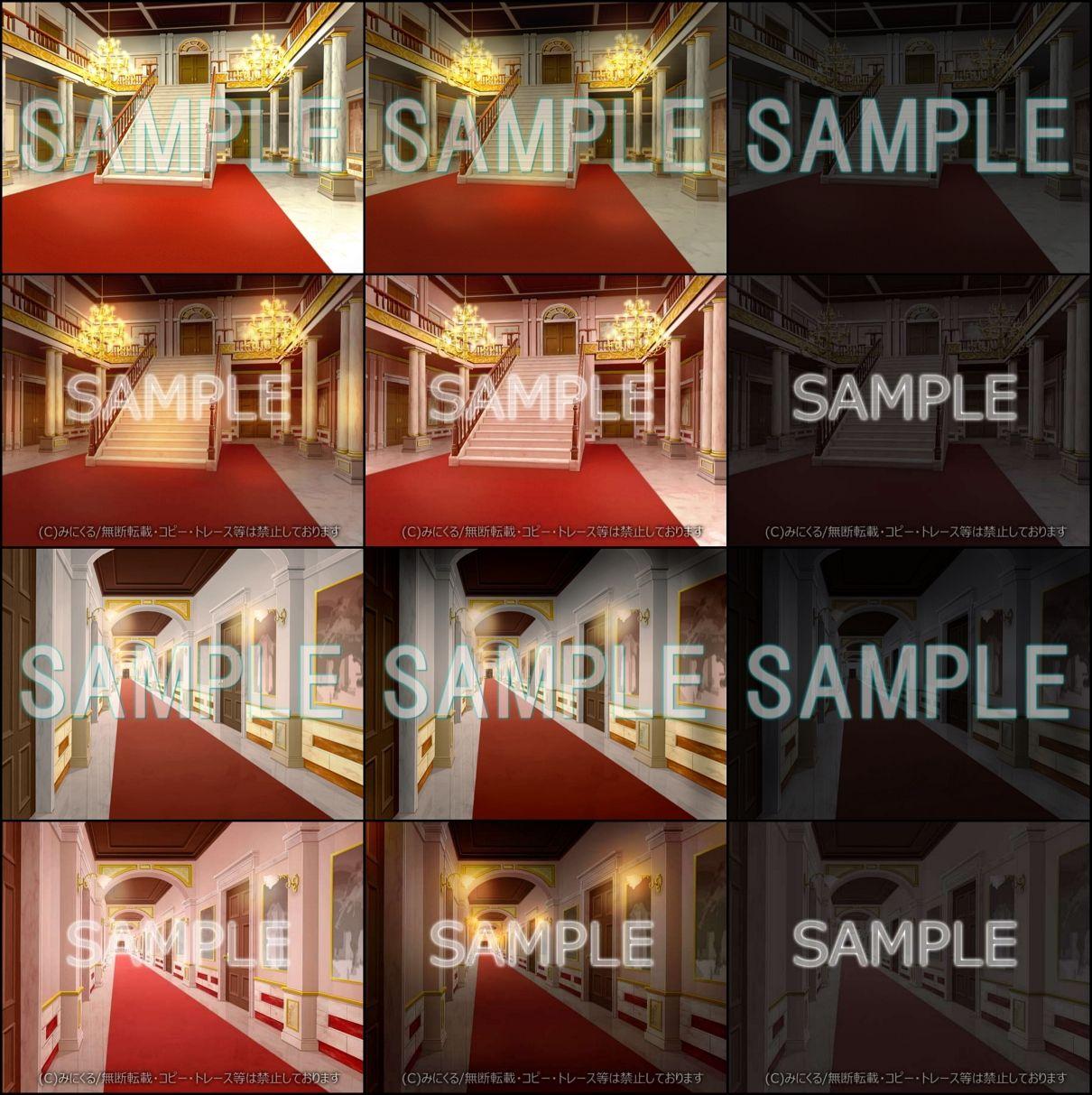 みにくる背景CG素材集『お屋敷編』part01 エロ画像