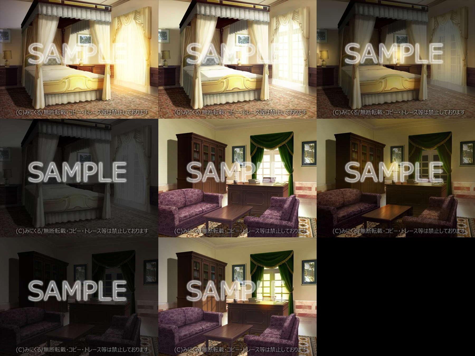 みにくる背景CG素材集『お屋敷編』part03 エロ画像