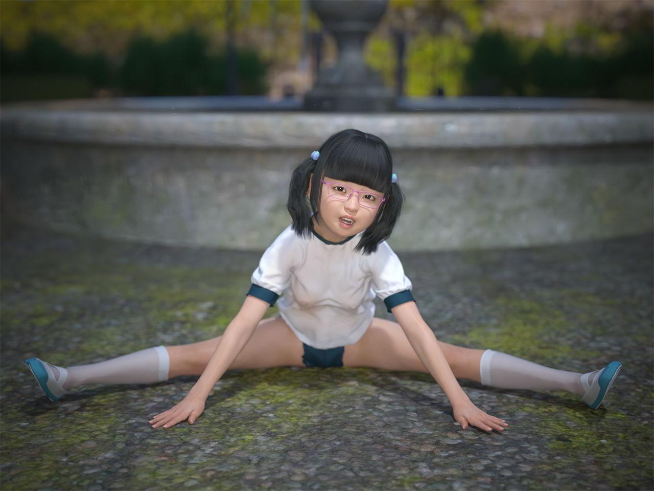 妄想直送 CG写真集 vol.9 体育少女遊戯 エロ画像