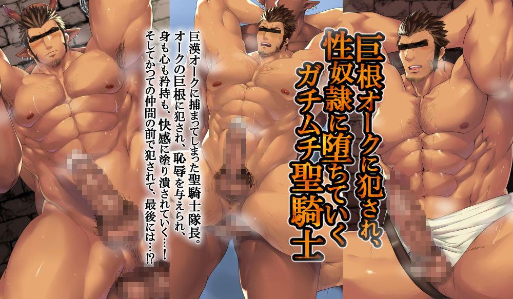 巨根オーク専用奴●に堕とされる性騎士…!(+ENG) エロ画像