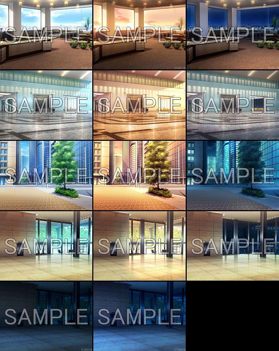 みにくる背景CG素材集『オフィス編』part01 エロ画像