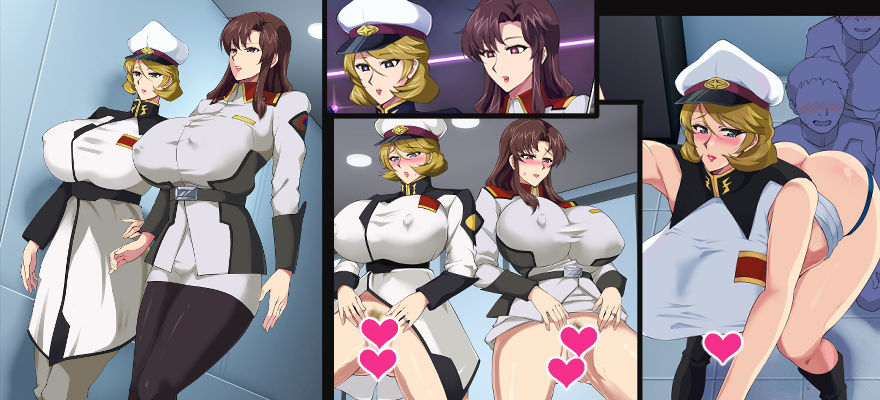 W美熟女艦長ドスケベ催●慰安任務 エロ画像