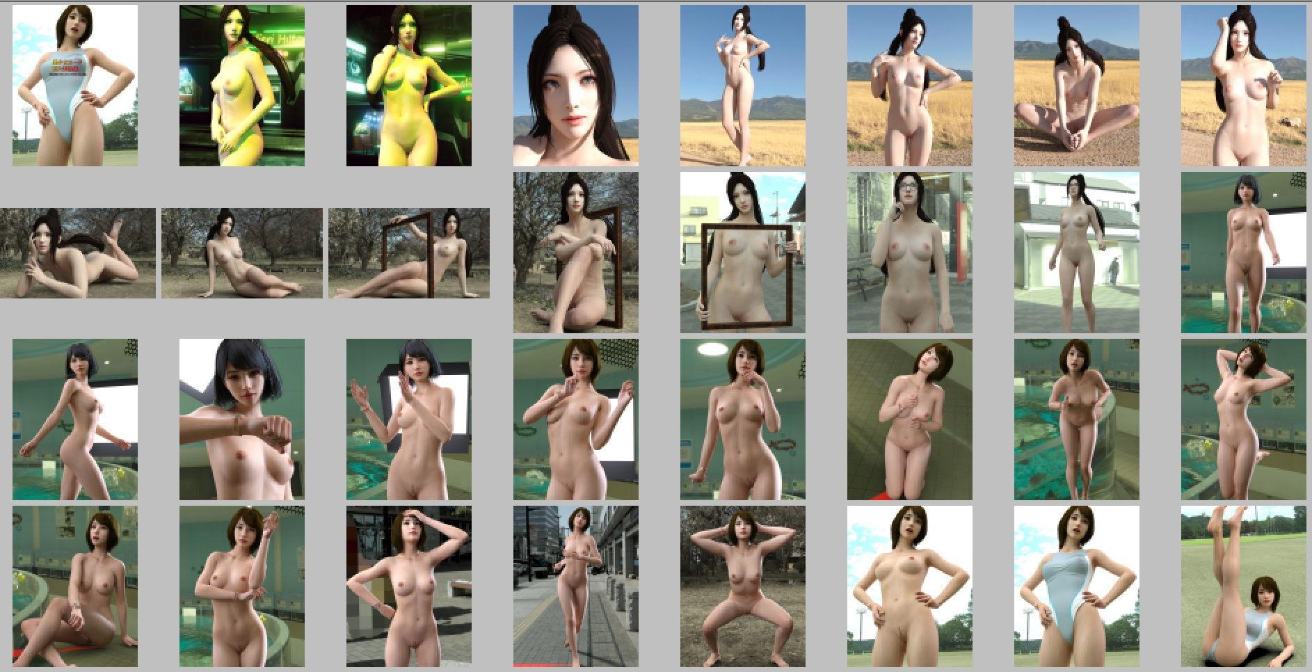 美少女ヌード巨大画像集98P エロ画像