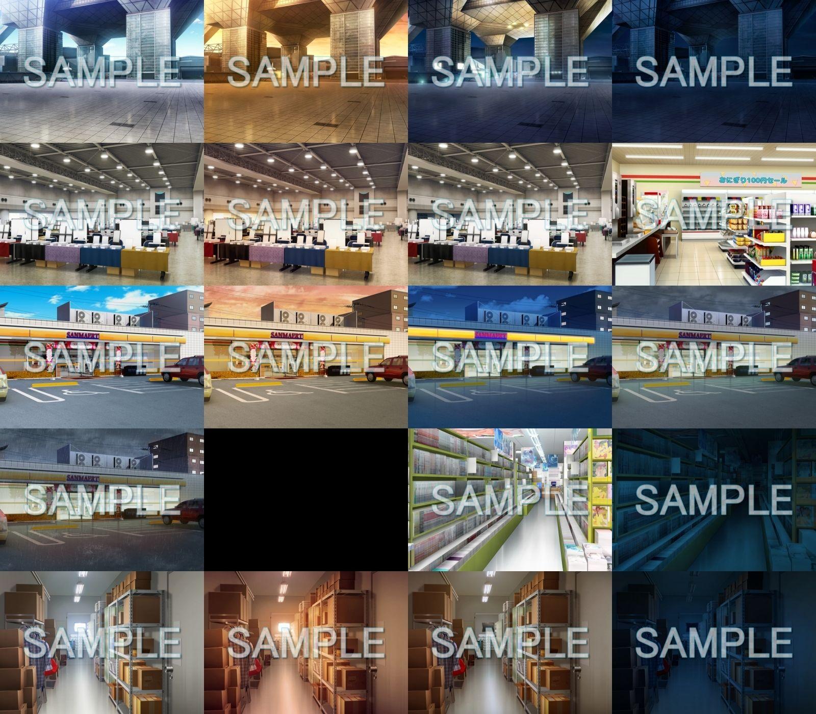 みにくる背景CG素材集『店舗&施設編』part01 エロ画像