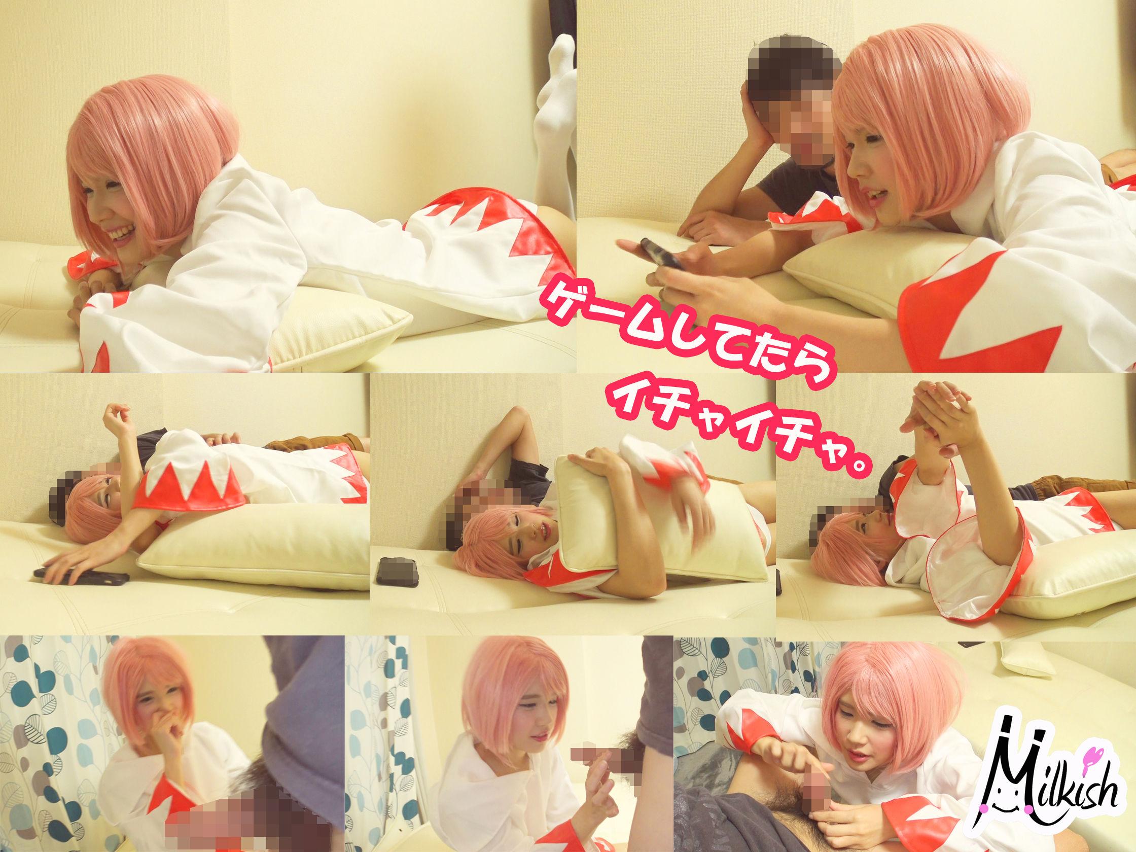 関西弁のマジ可愛いレイヤーことねちゃんと自宅でラブラブフェラチオ