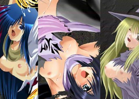 【クリスタ 中出し】少女少年の、クリスタ、セレナの中出し凌辱ファンタジー触手の同人エロ漫画。