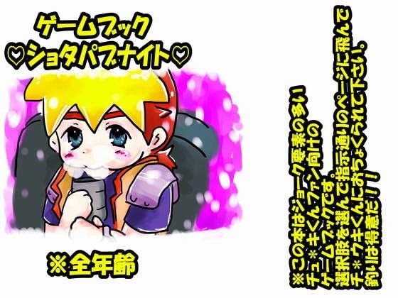 【サークルおにぎり 同人】ゲームブック・ショタパブナイト