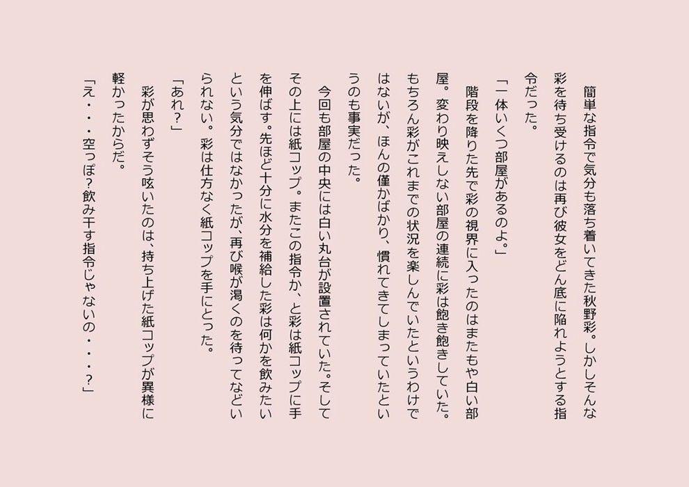 [同人]「-Rooms- II」(妄想小説)