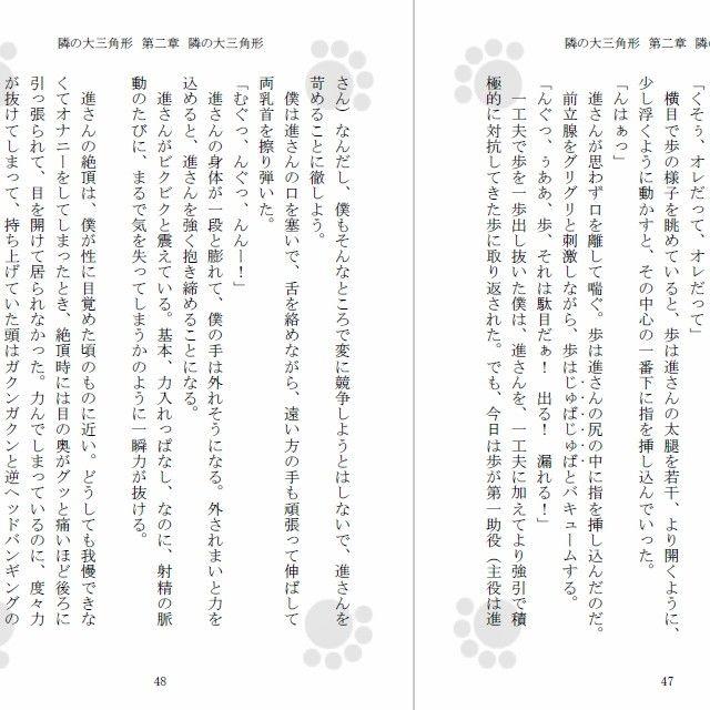 [同人]「隣の大三角形」(Gradual Improvement)