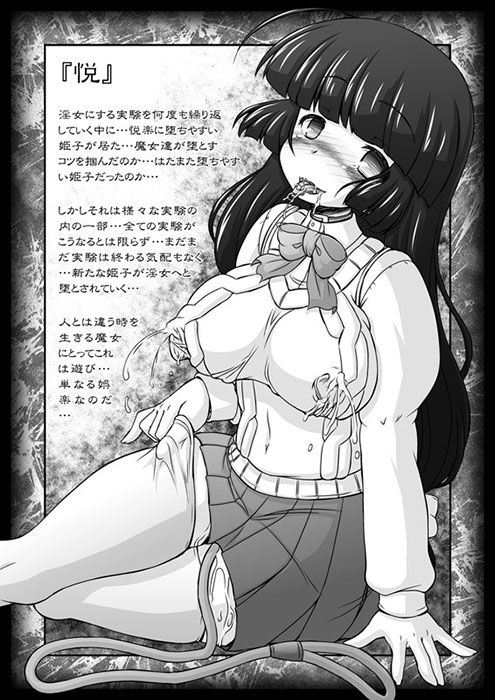 [同人]「姫・淫女実験輪獄編・悦」(サークルENERGY)