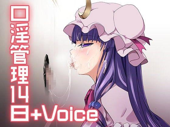 『口淫管理14日+Voice』ダウンロード用の画像。