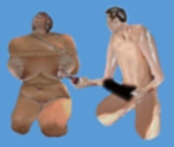 [義母]「ゲリラ母乳ビュルルーッ!!」(TMU)